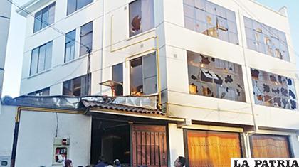 La casa de Soledad Chapetón sufrió un atentado por militantes del MAS /ANF
