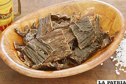 La carne seca o el tradicional charque, data de tiempos inmemoriales