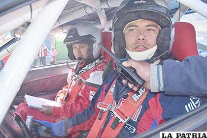 Mauricio Molina busca mantener el buen nivel de las últimas carreras /Reynaldo Bellota /LA PATRIA