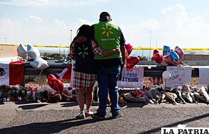 El tiroteo de El Paso, ocurrido en el aparcamiento de una tienda del supermercado Walmart, dejó un total de 22 muertos y 24 heridos /DIARIO LIBRE