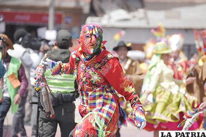 Carnaval de Oruro será organizado de manera coordinada /LA PATRIA /archivo