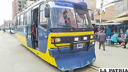 Tren urbano tuvo buena aceptación de la población /LA PATRIA