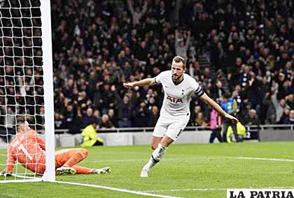 Doblete de Harry Kane para el triunfo de Tottenham ante el Olympiacos 4-2 /efe.com