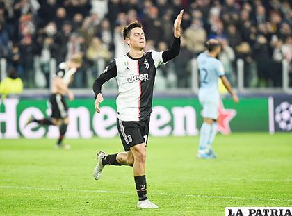 Dybala, anotó el único gol con el que Juventus ganó al Atlético de Madrid 1-0 /marca.es