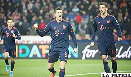 Bayern, se dio un