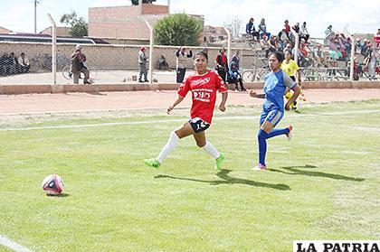 El objetivo del cuadro challapateño es conseguir el título del presente torneo /Foto: Carla Herrera LA PATRIA