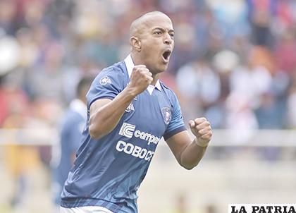 Serginho en el minuto 58 anotó el gol del empate para los