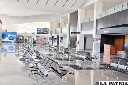 El aeropuerto de Oruro fue inaugurado en 2013 /LA PATRIA /ARCHIVO
