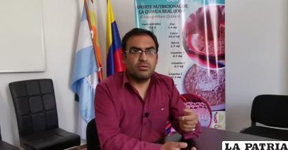 Miguel Salas, historiador /LA PATRIA