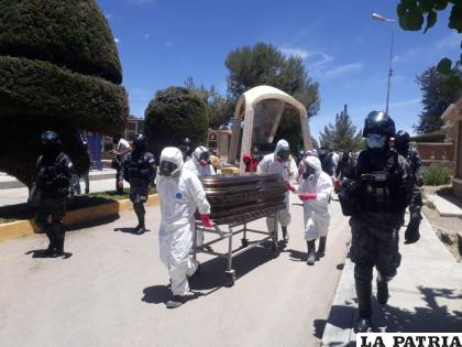 El cuerpo de Gutiérrez fue sometido a una necropsia  /LA PATRIA
