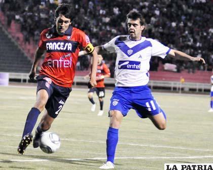 Vieira anotó el único gol del partido