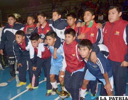 La selección de Oruro quedó en segundo lugar