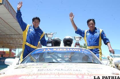 José y Elías Veizaga ganadores de la N-2