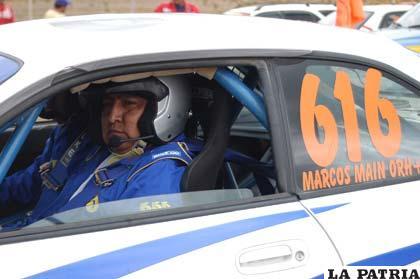 Marcos Main quedó en el segundo lugar