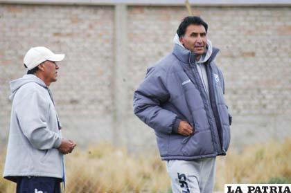 """Teodoro Cárdenas y Marcos Ferrufino, preparan toda la """"artillería"""""""