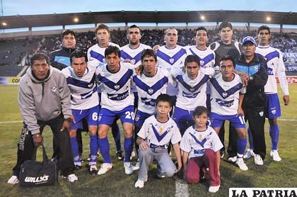 Jugadores de San José en el partido que jugaron en Sucre