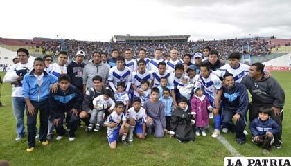 San José está clasificado a la Copa Sudamericana como Bolivia III