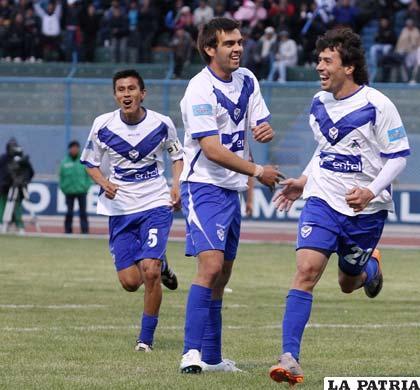 Ribera, Vieira y Pintos, jugadores de San José