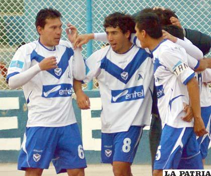 Suárez, Andrada y Ribera, jugadores de San José