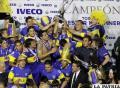 Boca Juniors golea al Banfield y se  consagra campeón en Argentina