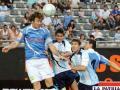 Argentina vence a Uruguay en partido  a beneficio de Fundación de Zanetti