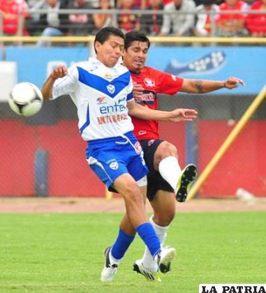La esperanza de gol en San José es Carlos Saucedo (foto: APG)