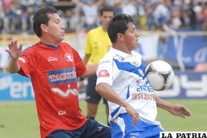 Suárez de Wilstermann y Reyes de San José (foto: APG)