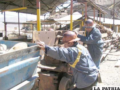 Ingresos mineros para los departamentos productores siguen bajando