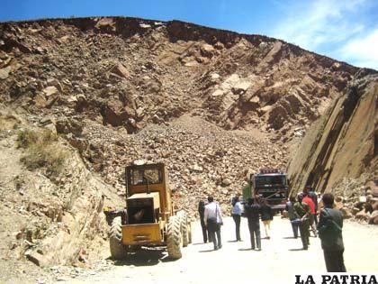 El cerro de La Víbora es afectado por trabajo en canteras