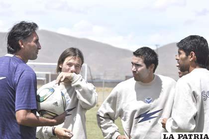 Ferrufino dialoga con Bonafina, García y Tordoya