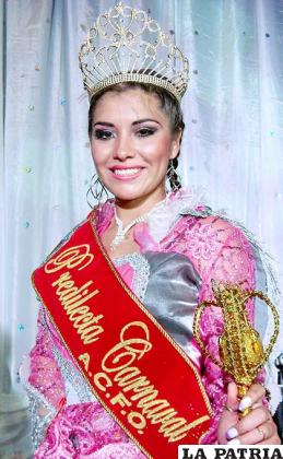 Predilecta del Carnaval 2013 Paola Andrea Padilla Foronda