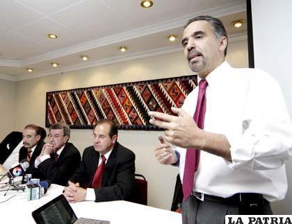 Mauricio Méndez, presidente de la Liga