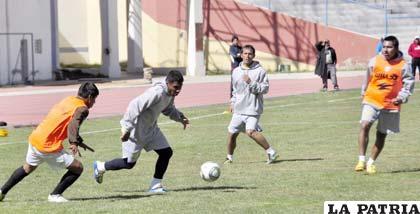 Los integrantes de San José hoy por la mañana reiniciarán prácticas pensando en La Paz F.C.