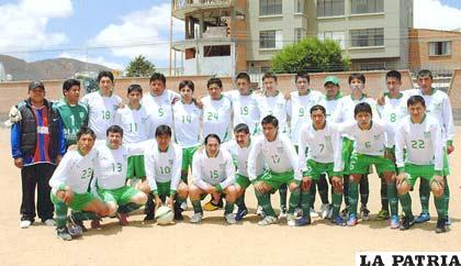 Jugadores del equipo de Comibol La Paz