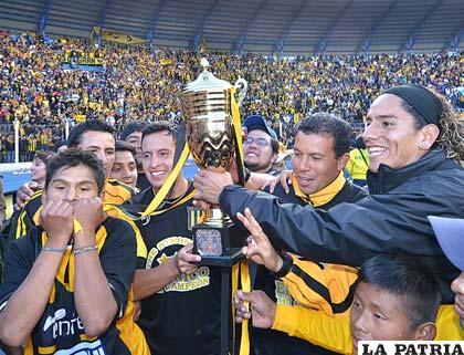 Villegas le dio el título a The Strongest en dos ocasiones (foto: APG)
