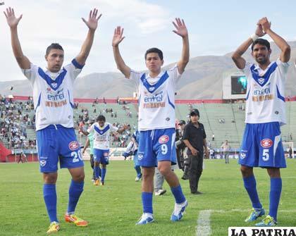 Ruiz, Saucedo y Tordoya jugadores de San José