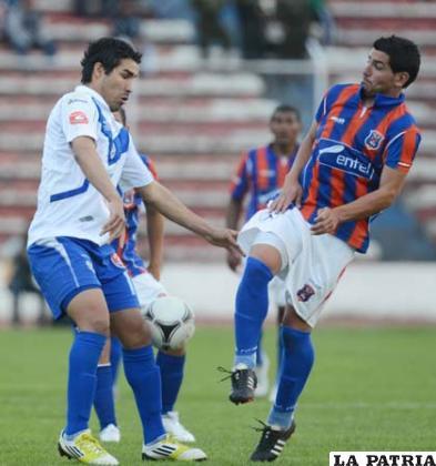 El partido de ida, jugado en La Paz, terminó igualado a dos goles (foto: APG)