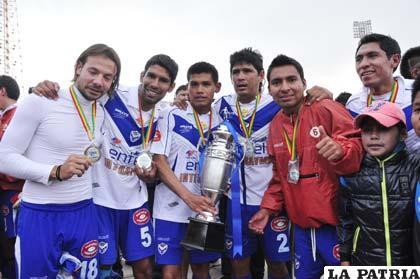 Bonafina, Tordoya, Torrico, Palacios, Ovando y Puma