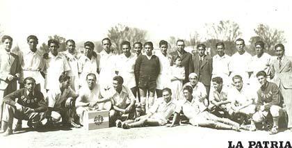 La selección de Tupiza en 1960