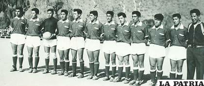 Selección de Oruro de 1944