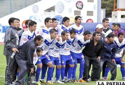 Los integrantes de San José  ganaron el honor de participar en la Copa Libertadores con todos los méritos