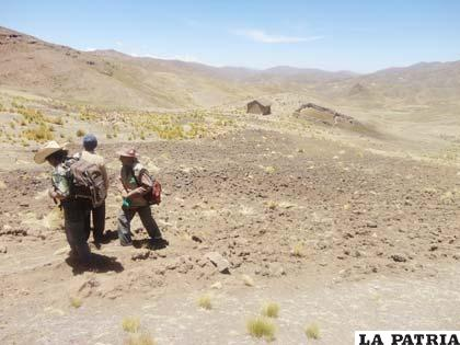 Sector en conflicto limítrofe-agrario con La Paz /Archivo
