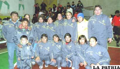 La delegación de Independiente Pontejo