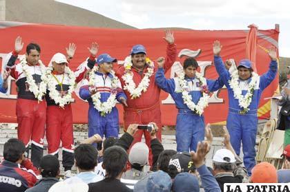 Pilotos ganadores de la categoría Libre