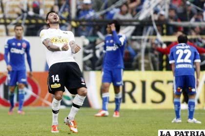 Rodrigo Javier Millar jugó muchos años en Colo Colo