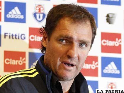 Darío Franco, entrenador de la U de Chile