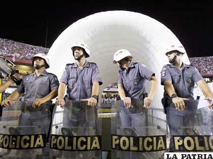 Sao Paulo dice que la seguridad en el Morumbí está garantizada