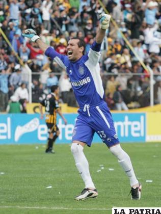 Marcos Argüello defendió la casaca de Bolívar en una temporada