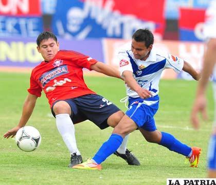 Del partido que jugaron en Cochabamba el 16 de septiembre (foto: APG)