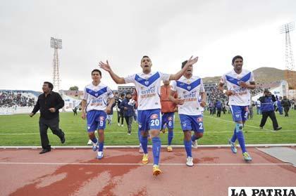 Saucedo, Ruiz, Palacios y Tordoya, jugadores de San José